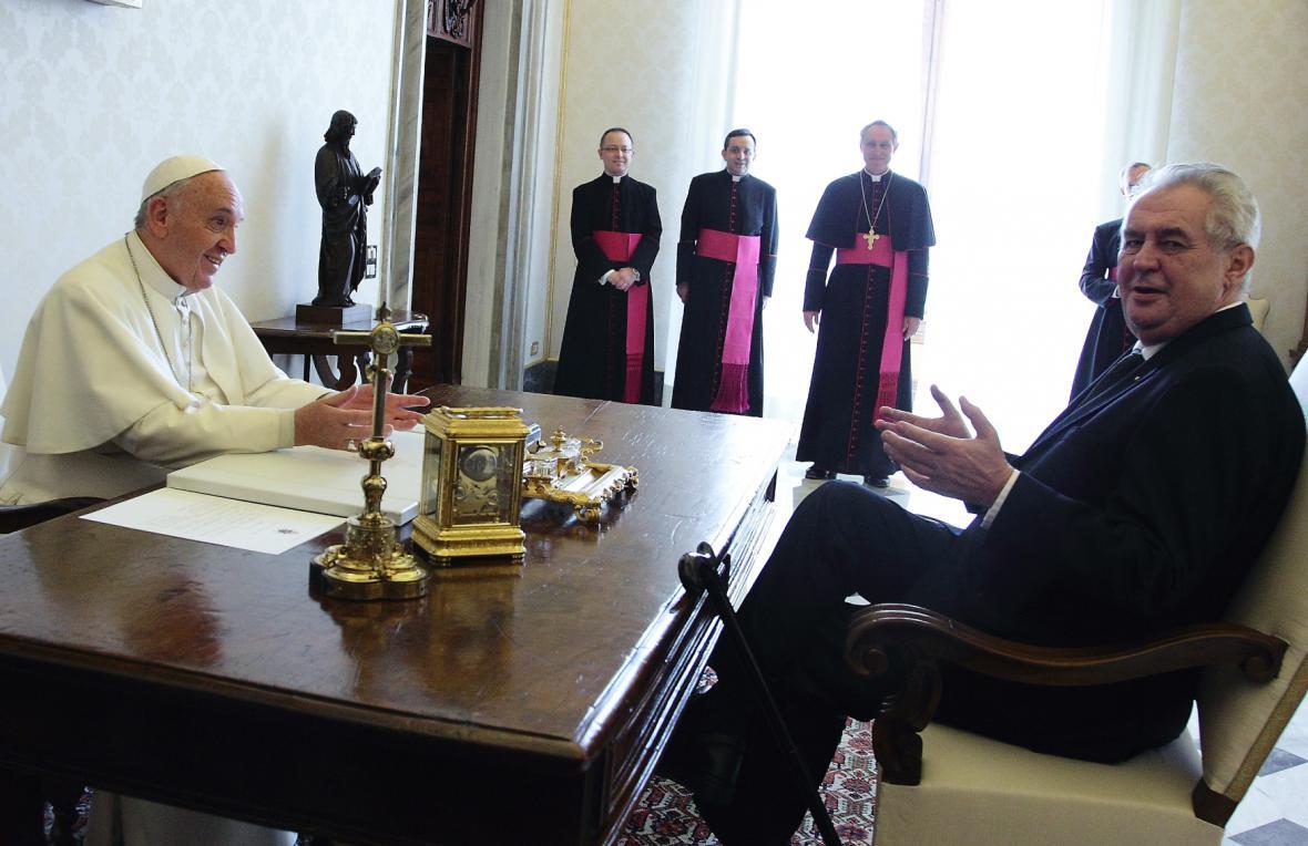Audience u papeže