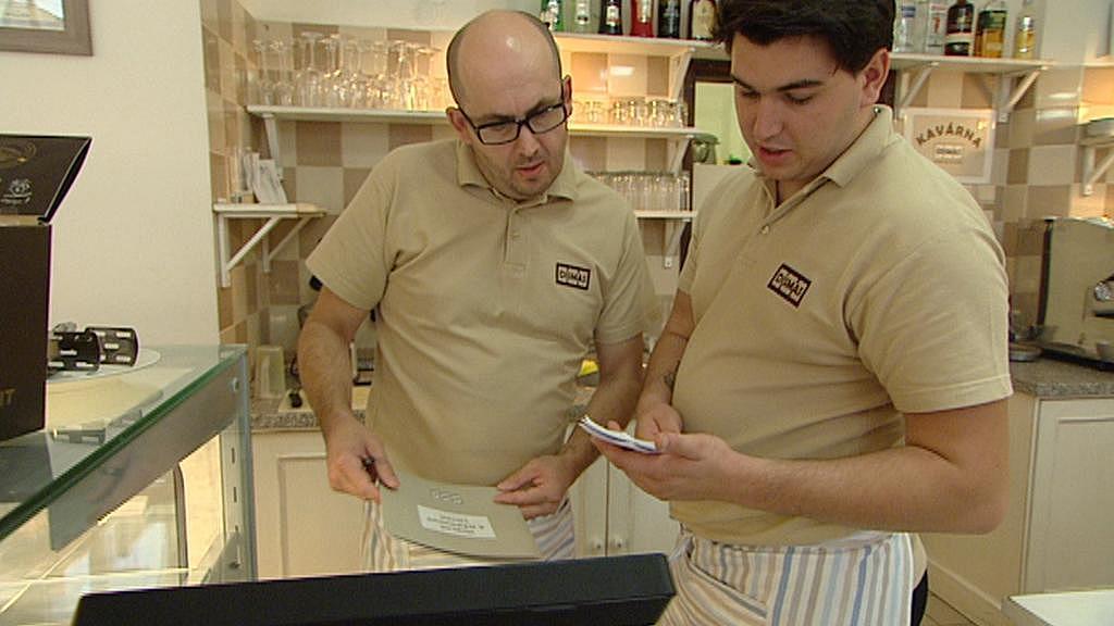 Pracovníci kavárny Dismas