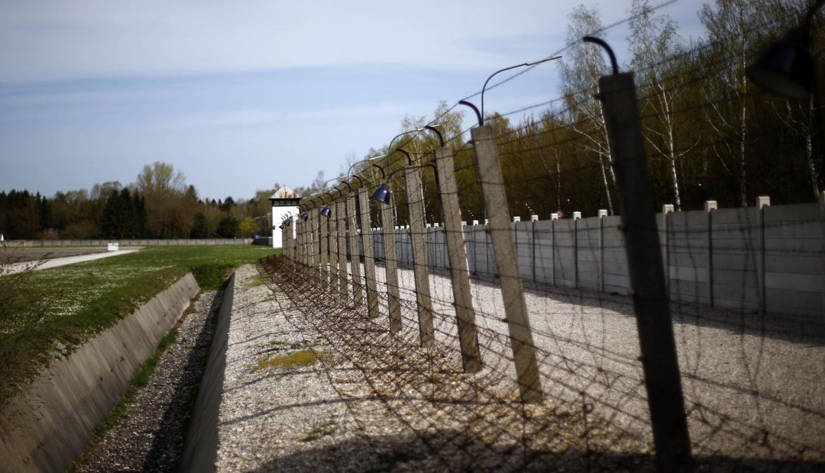 Tábor v Dachau - dnešní stav v památníku