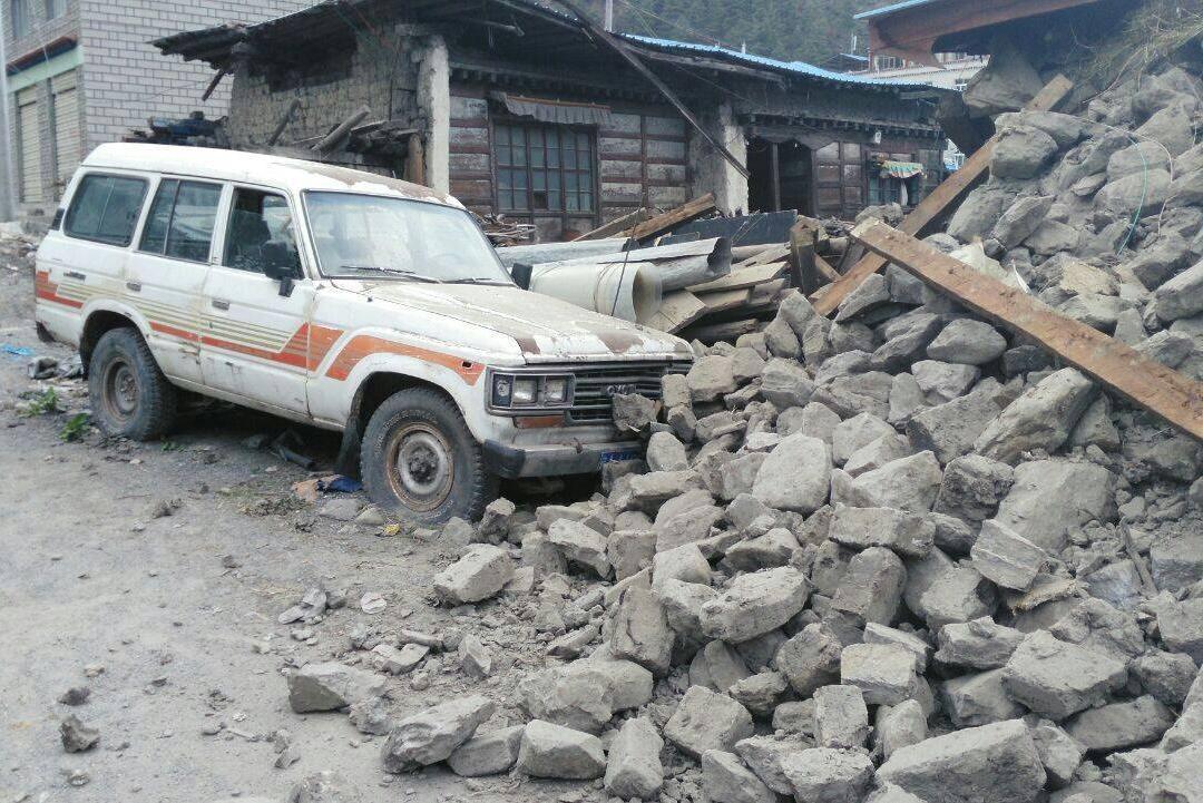 Zemětřesení zasáhlo i Tibetskou autonomní oblast na jihozápadě Číny