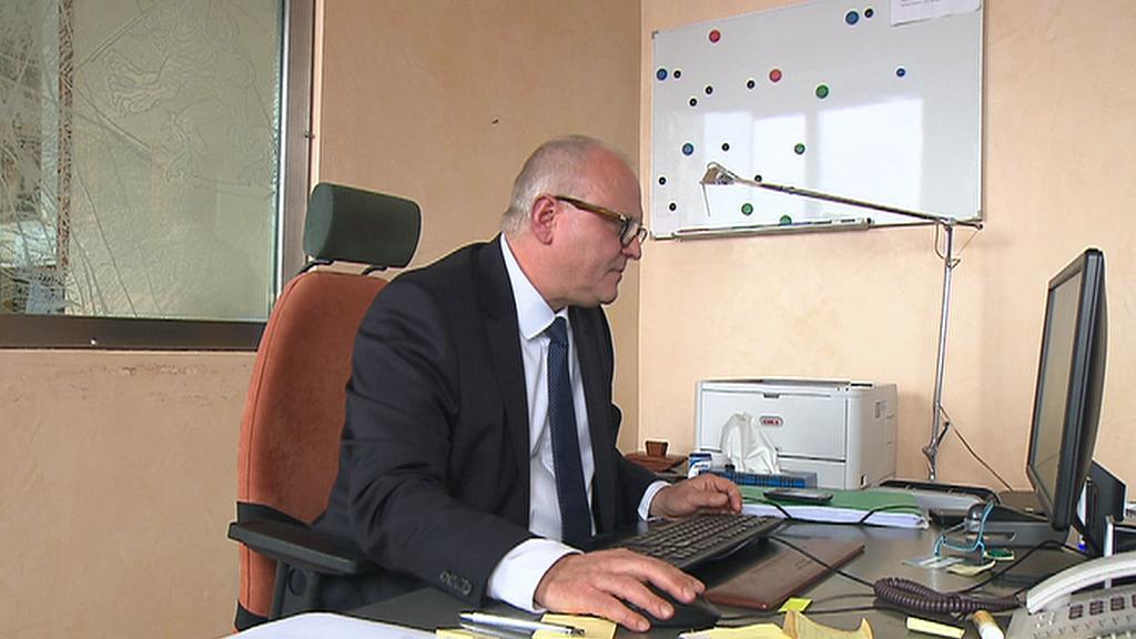 Současný ředitel Homolky Ivan Oliva