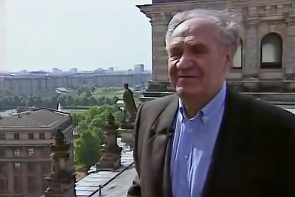 Jevgenij Chalděj po letech na
