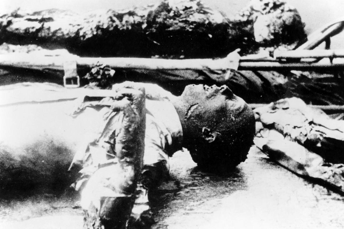 Mrtvola Josepha Goebbelse