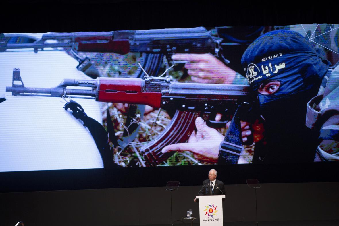 Malajsijský premiér hovoří o hrozbách terorismu