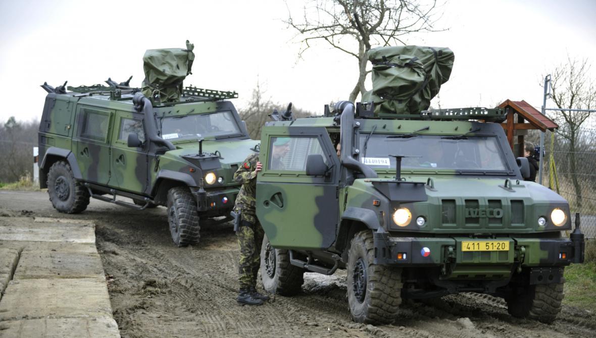 Obrněná armádní vozidla