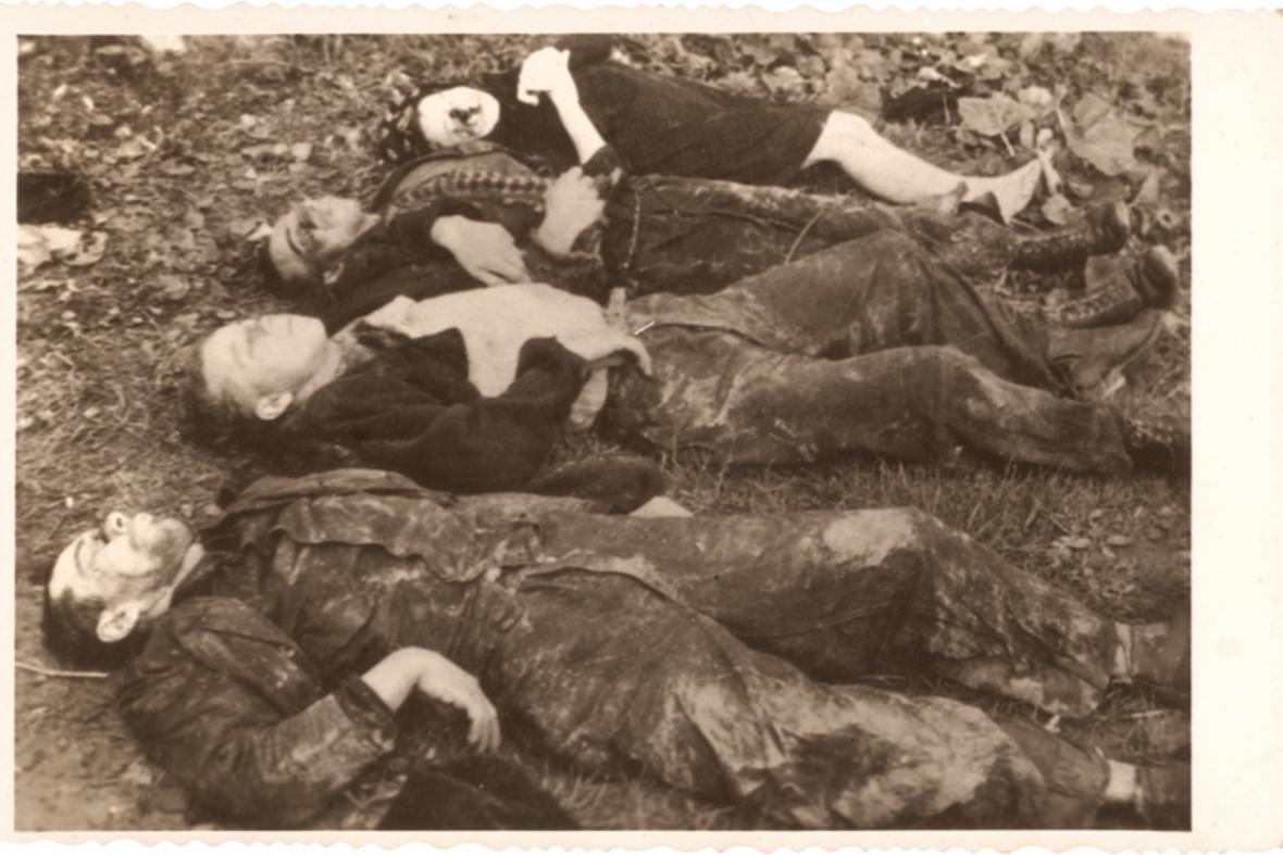 Čtyři obyvatelé Vařákových pasek zavraždění gestapem v květnu 1945