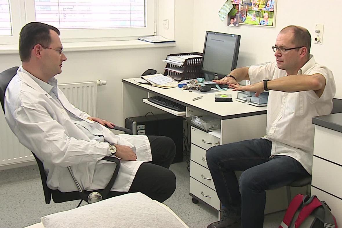 Nemocný Parkinsonovou chorobou