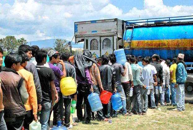 Humanitární pomoc v Nepálu