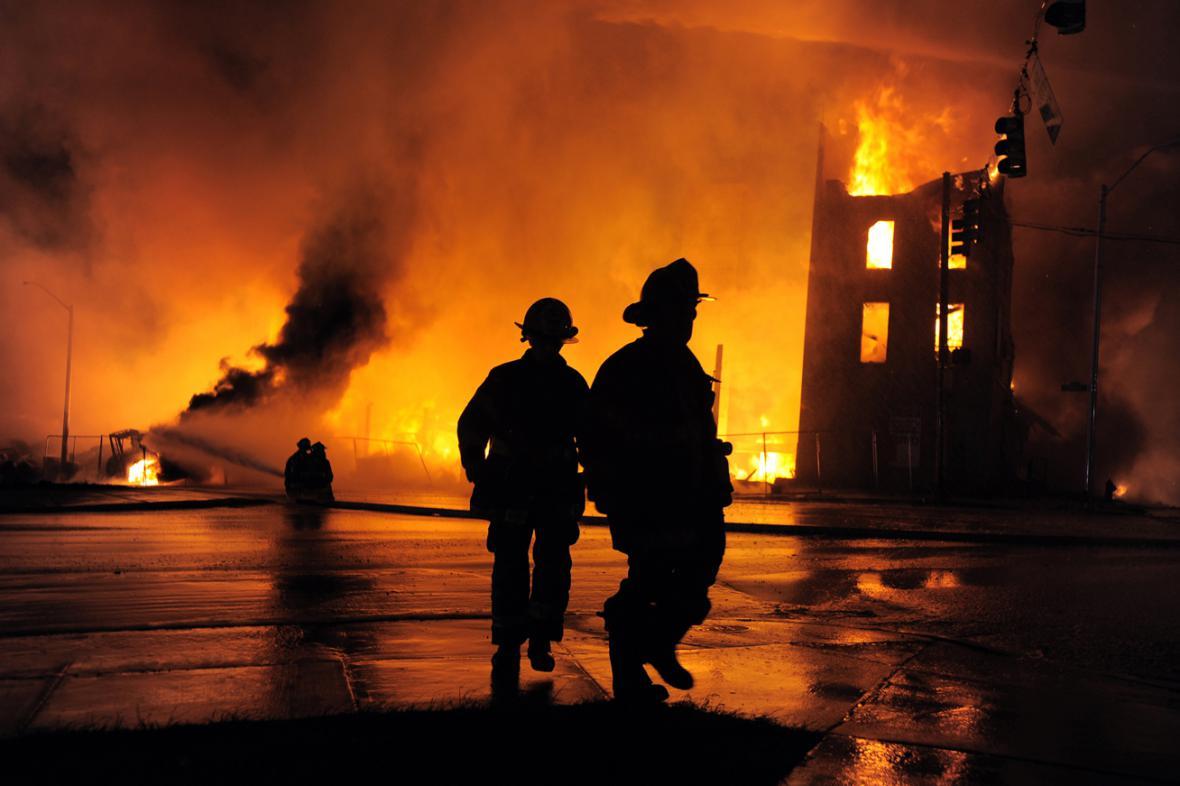Následky nepokojů v Baltimore