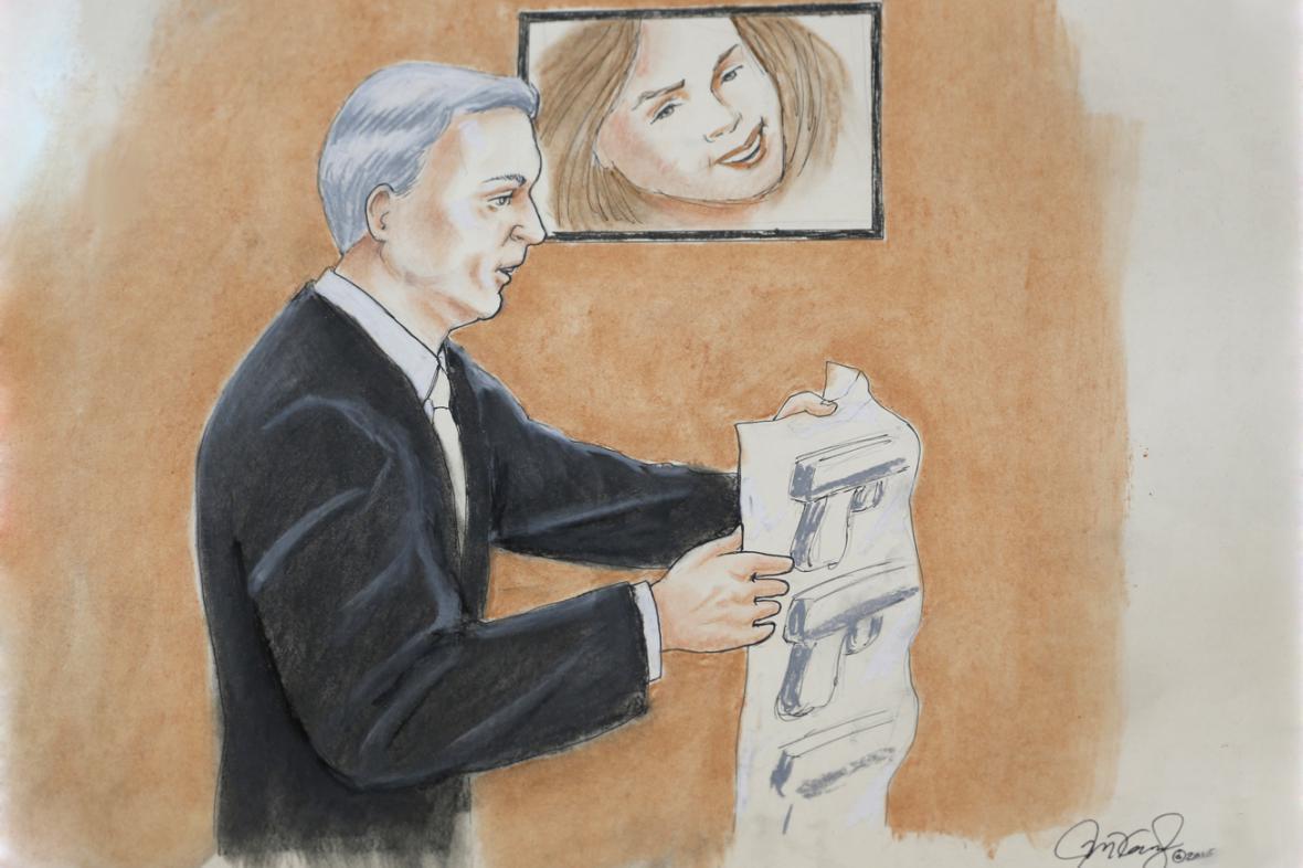 George Brauchler u soudu