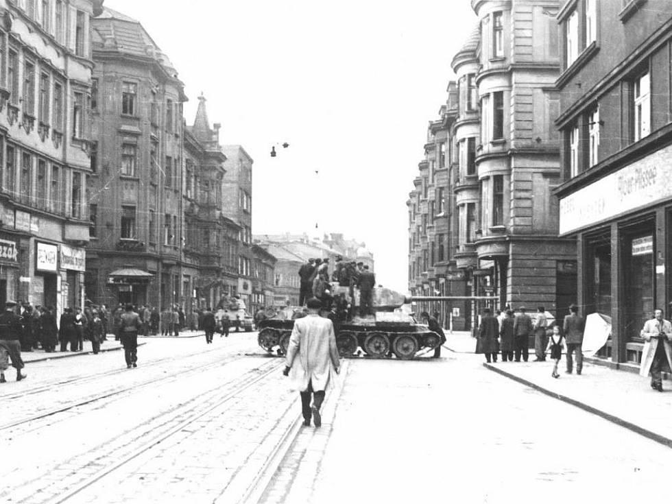 Osvobození Ostravy 30. dubna 1945