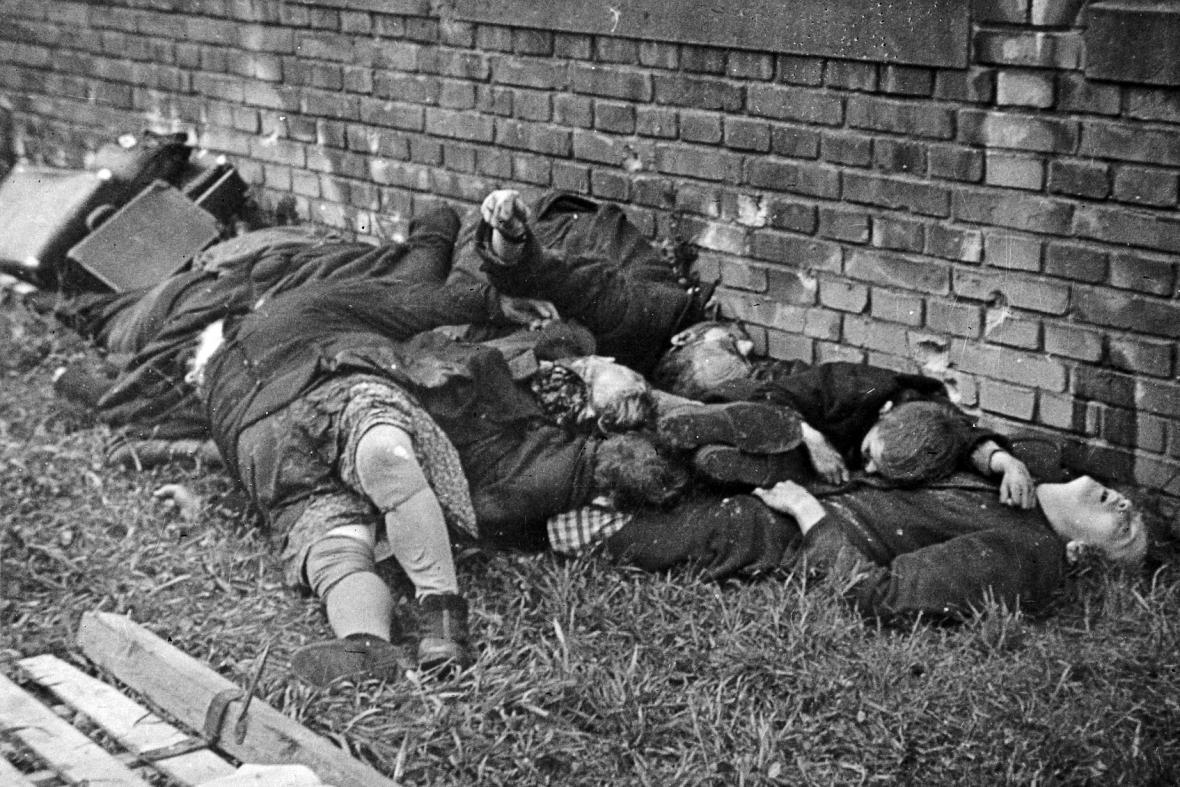 Osvobození a konec války 1945