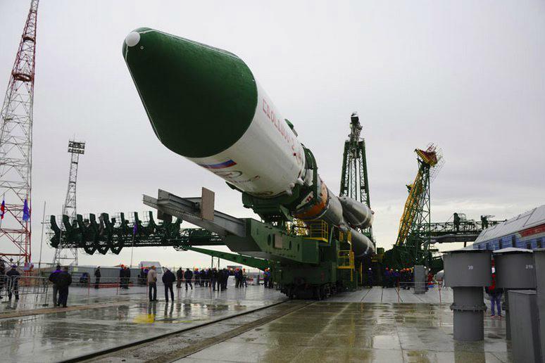 Ruská nákladní loď Progress