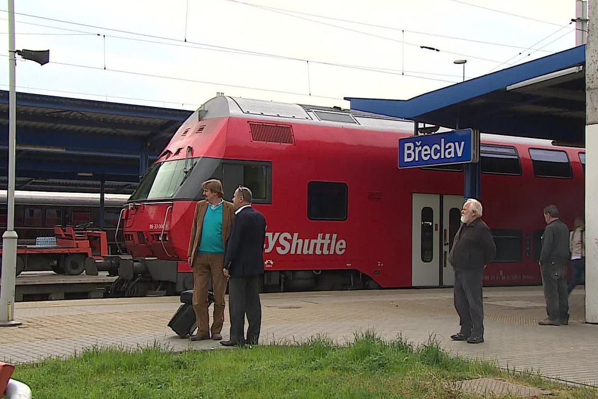 Železniční uzel v Břeclavi
