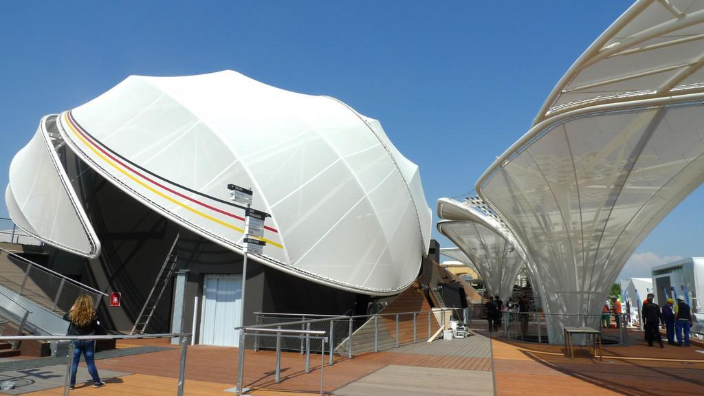 Expo 2015 - německý pavilon