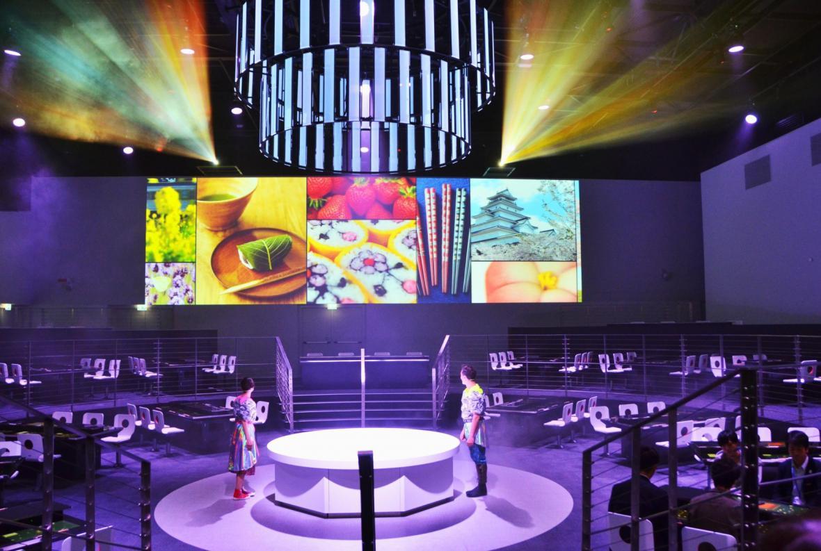 Expo 2015 - japonský pavilon