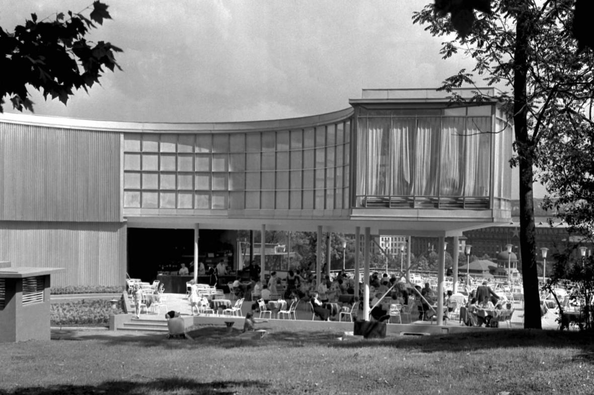 Expo 1958: Bruselská restaurace Praha