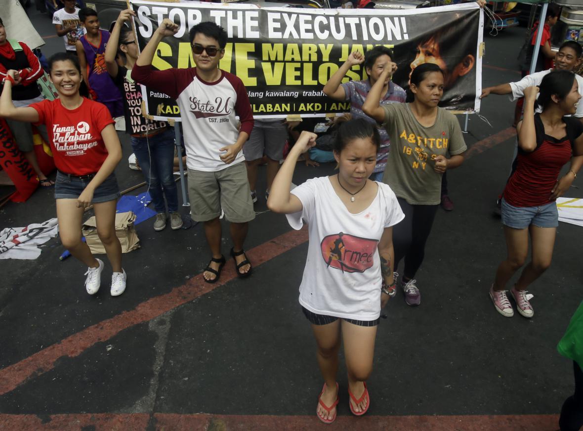 Protesty proti popravám odsouzených