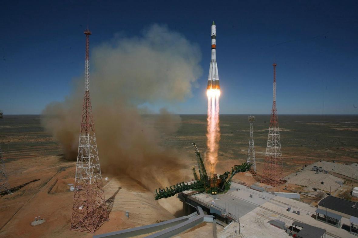Progress odstartoval z Bajkonuru 28. dubna