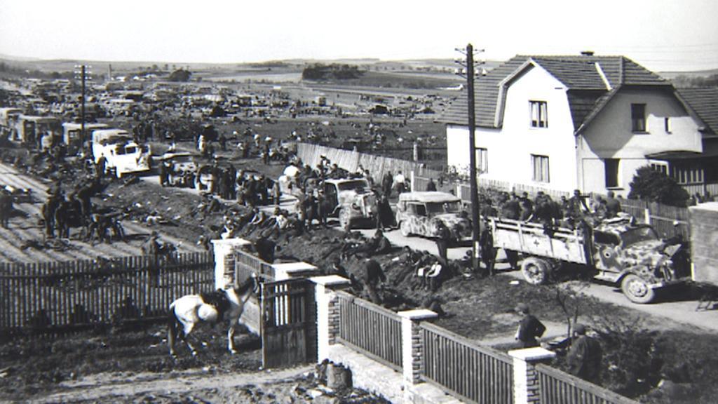 Cílem Němců bylo dostat se do amerického zajetí
