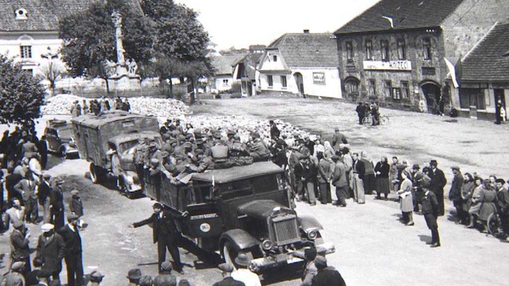 Konec války slavilo Příbramsko až 12. května