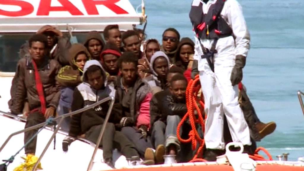 Uprchlíci u italských břehů