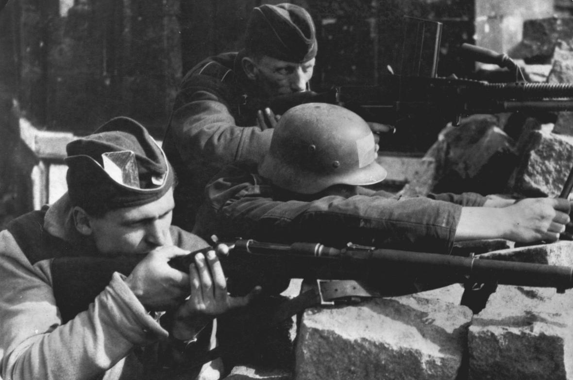 Bojovníci z Pražského povstání