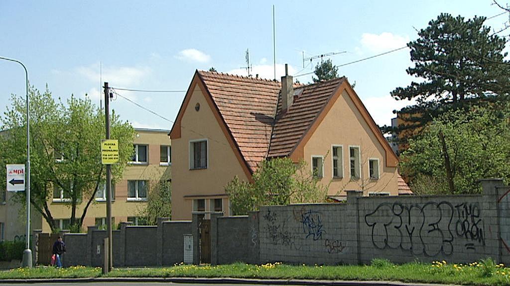 Dům v Krči, odkud Antonín Ždimera fotil německé dělostřelce