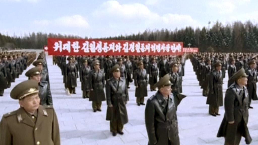 Severokorejští důstojníci