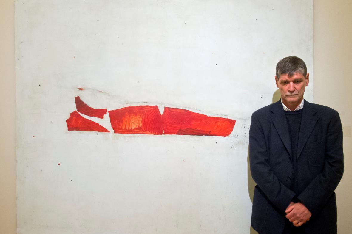 Petr Veselý na výstavě v Rudolfinu