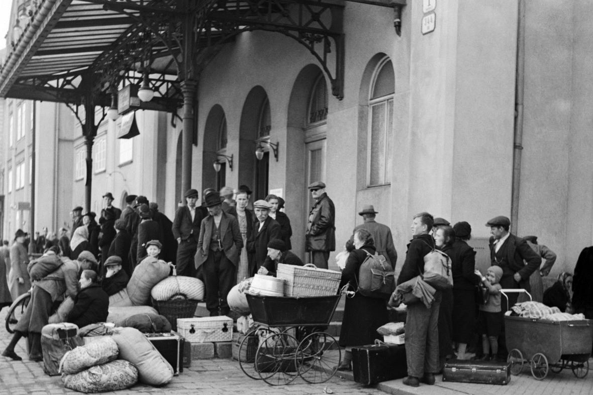 Českoslovenští uprchlíci