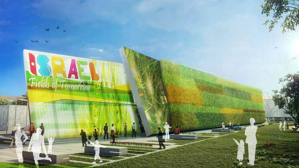 Expo 2015: pavilon Izraele