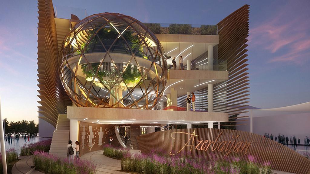 Expo 2015: pavilon Ázerbájdžánu
