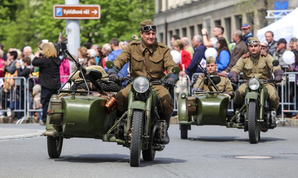 Vojenská přehlídka v Ostravě