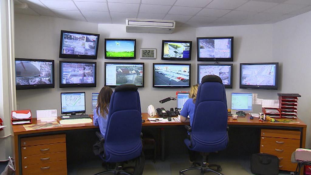 Dispečink kamerového systému městské policie