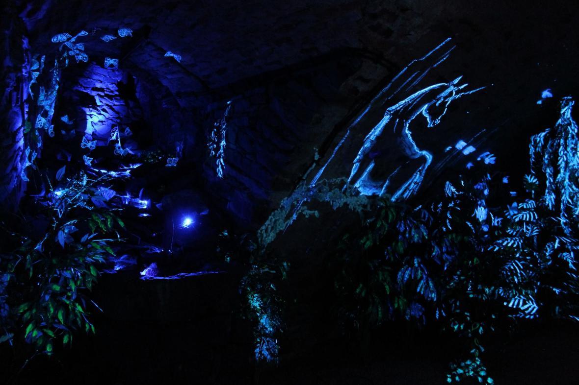 Podzemí zámku v Uherském Ostrohu