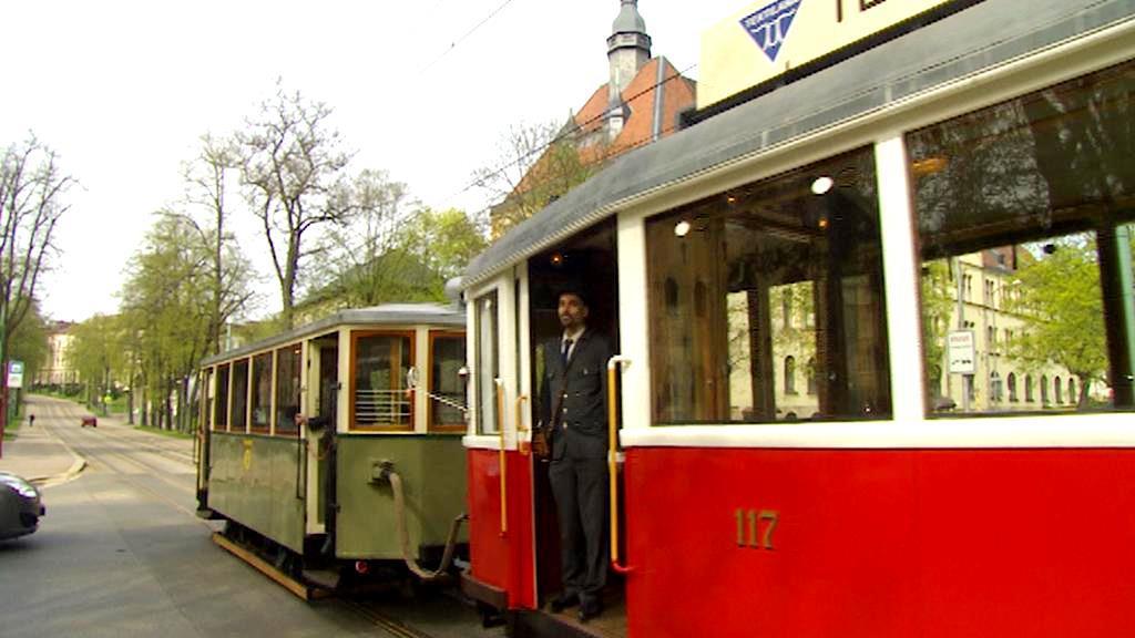 Historická tramvaj v Liberci
