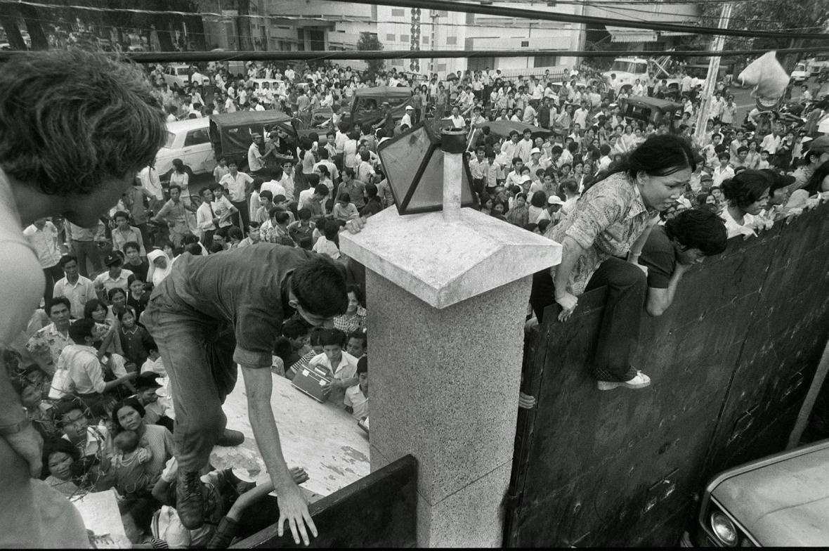 Evakuace Saigonu v dubnu 1975