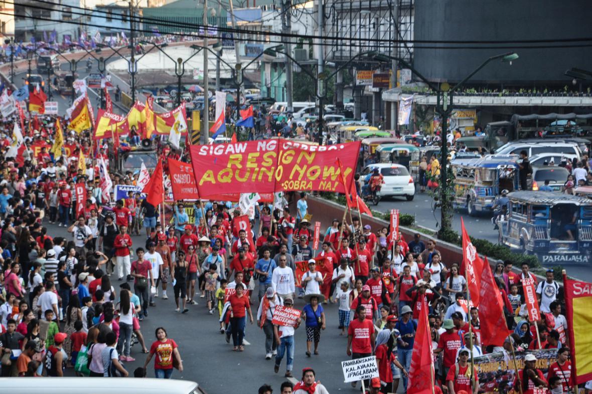 První máj v Manile