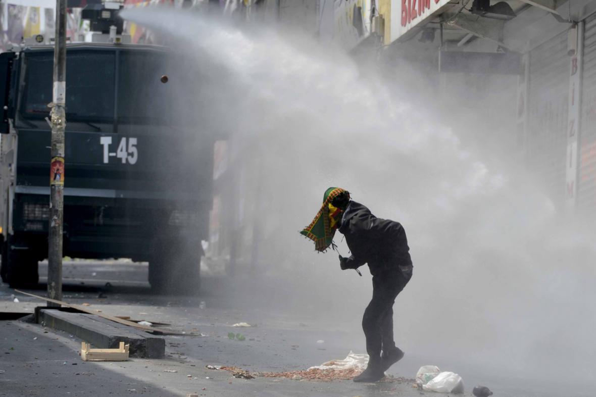 Prvomájové protesty v Turecku