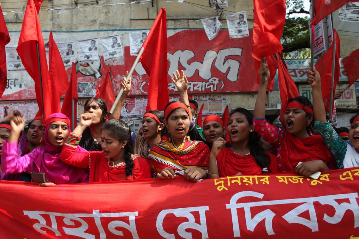 První máj v Bangladéši