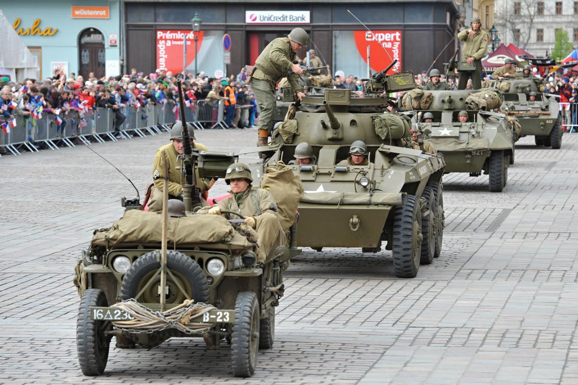 Oslavy osvobození v Plzni