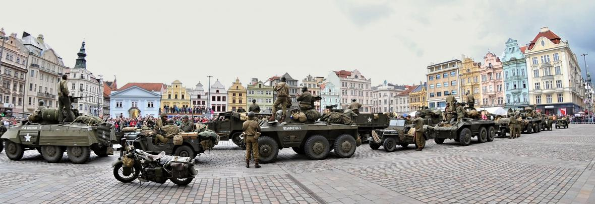 Prvního května začaly v Plzni oslavy osvobození