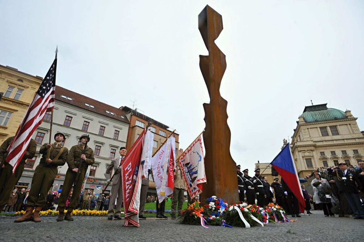 Pomník generálu Pattonovi v Plzni