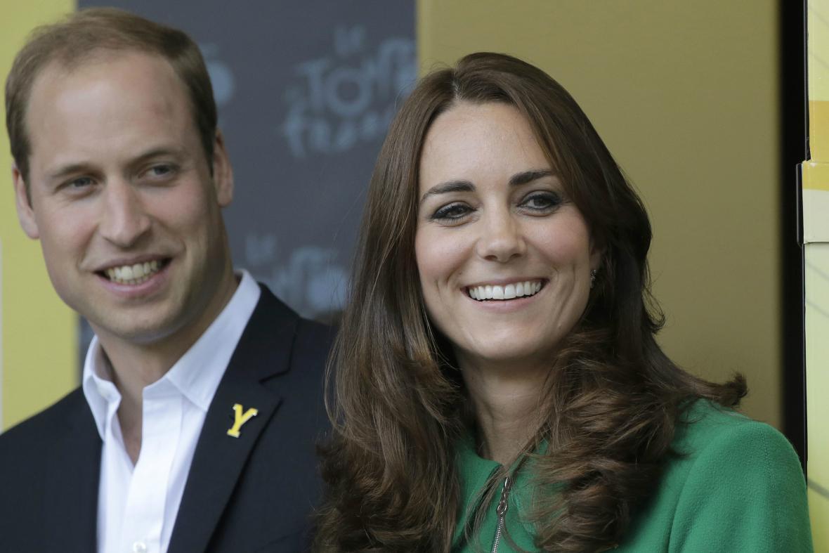 Princ William a vévodkyně Catherine