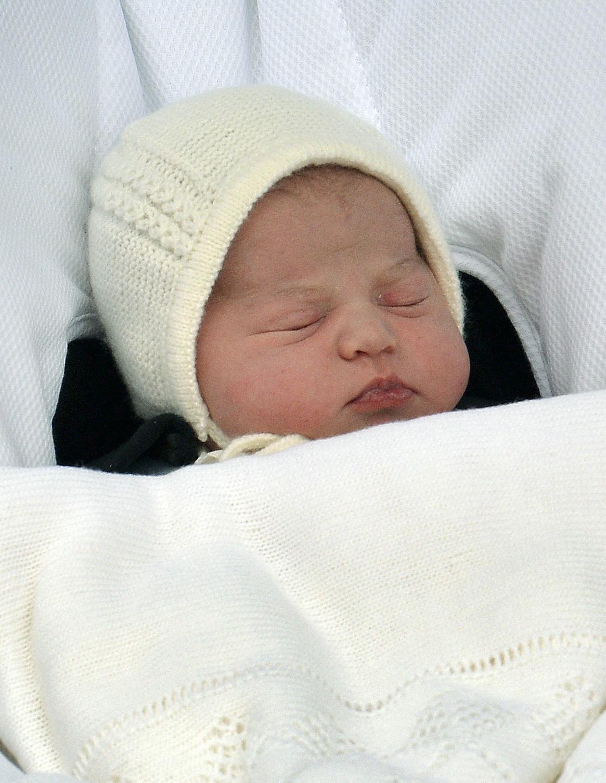 Novorozená dcera Kate a Williama