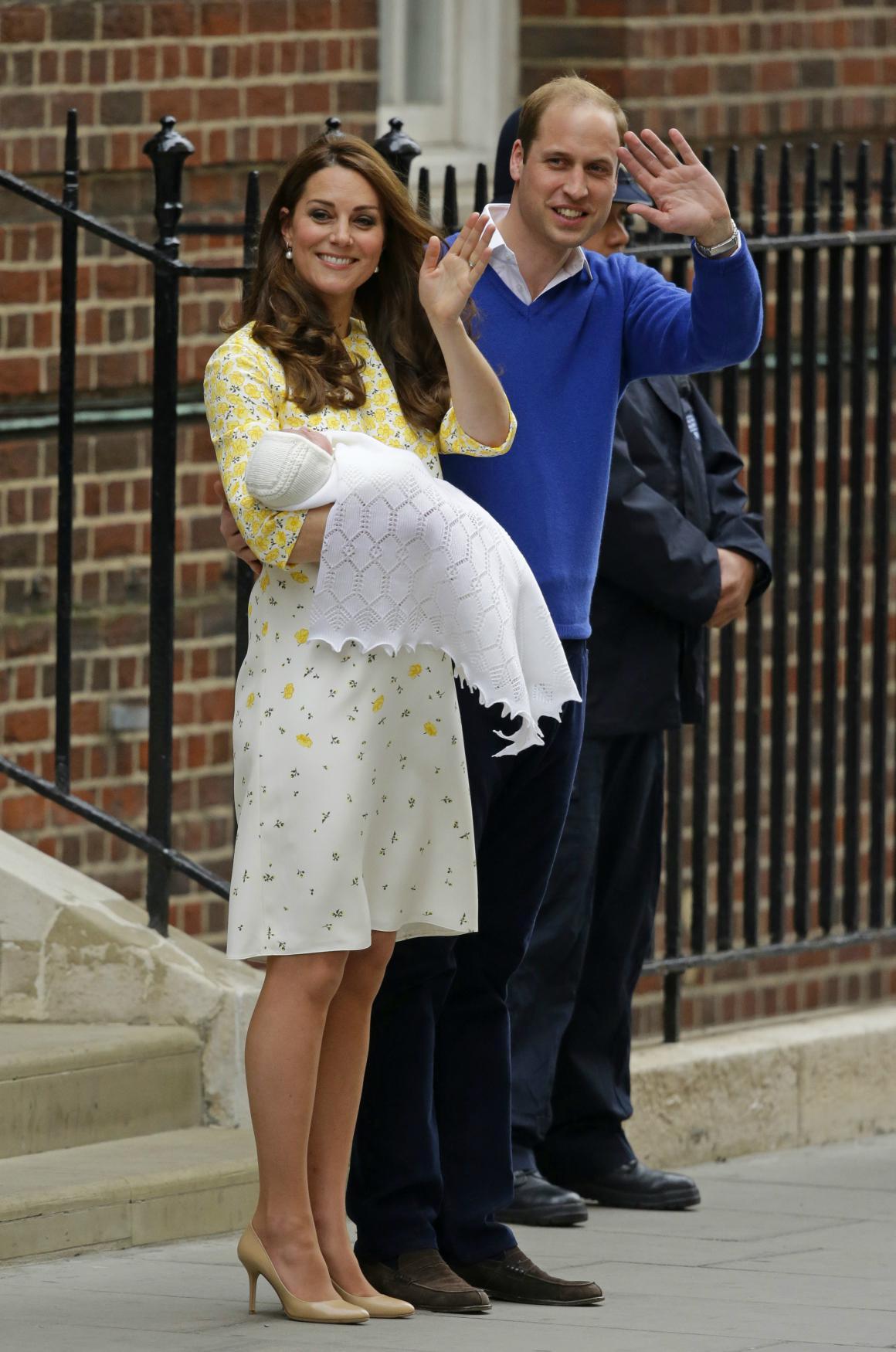 Kate i s dcerou opustila nemocnici už 10 hodin po porodu
