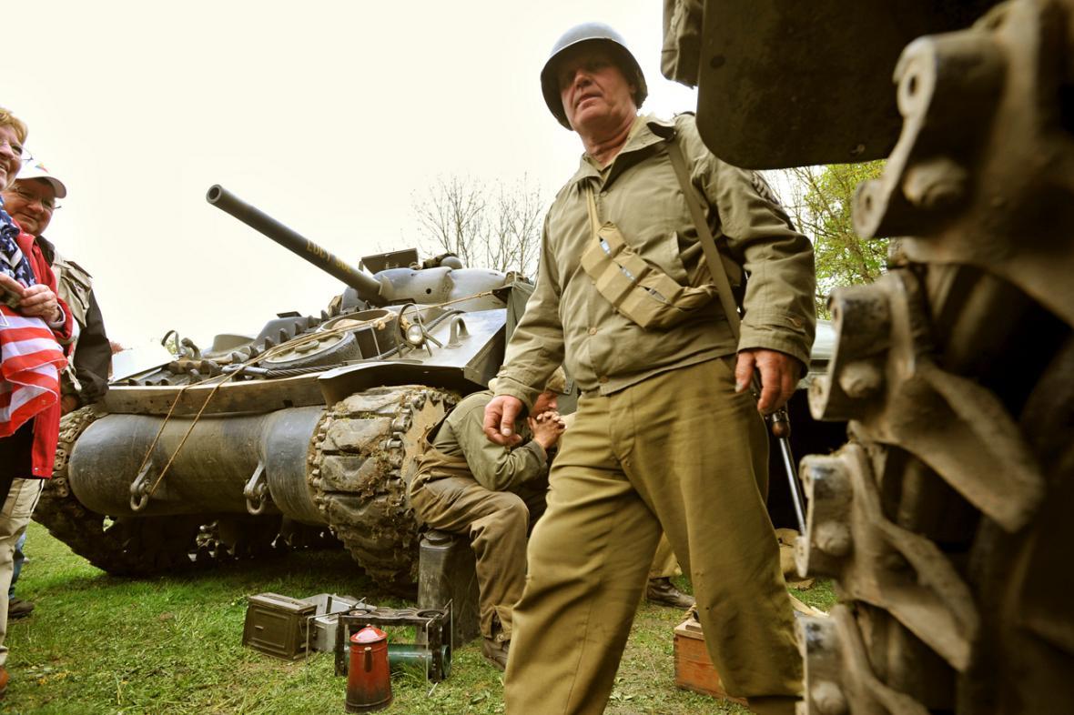 Slavnosti svobody v Plzni pokračují ukázkami bojů