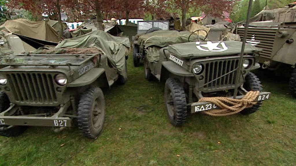 V Plzni se představila americká vojenská technika z druhé světové války