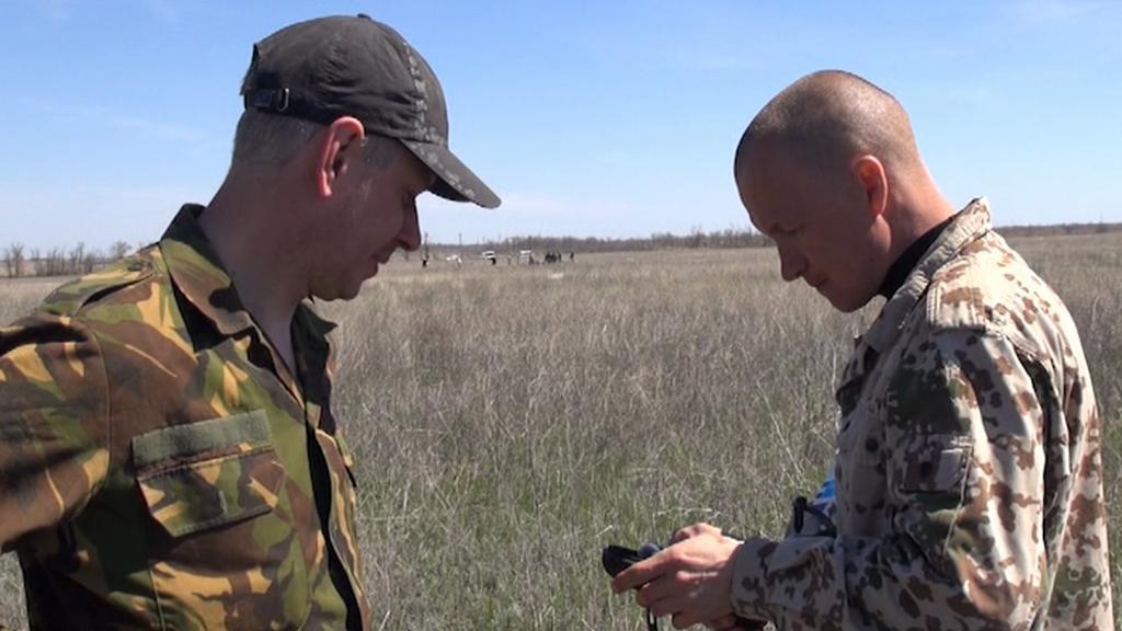Denis Ivanov hledá pozůstatky vojáků z bitvy o Stalingrad